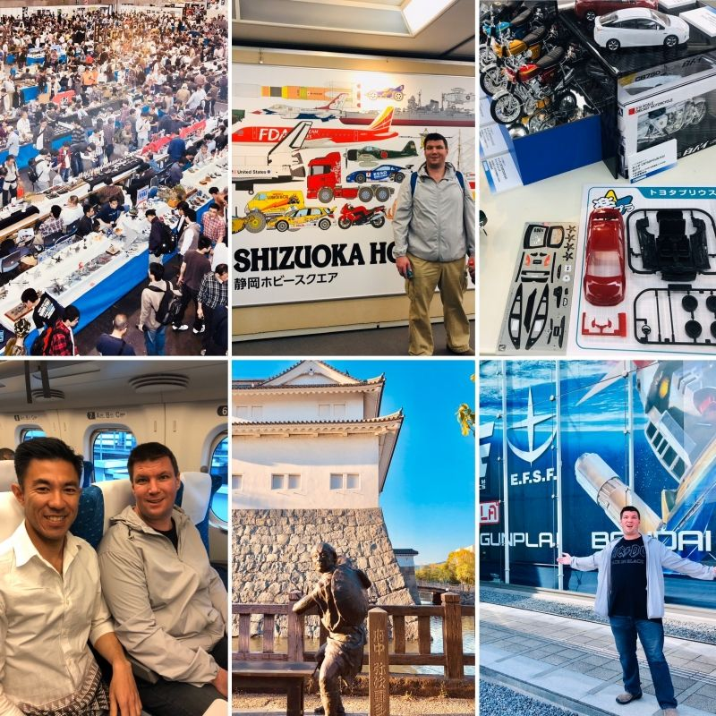 SHIZUOKA city, the Mecca of plastic models.. a dream coming true if you a into the hobby!