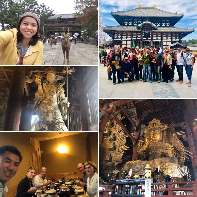 Some guides were needed to guide this big group in NARA.