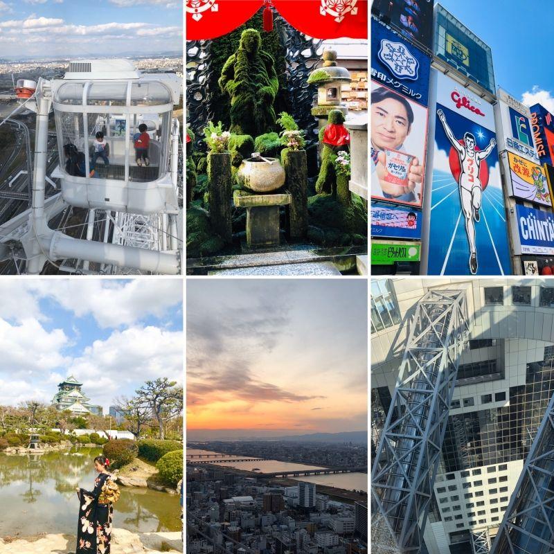 OSAKA is main city of Kansai region (west Japan), 20 million people in the Metropolitan area!