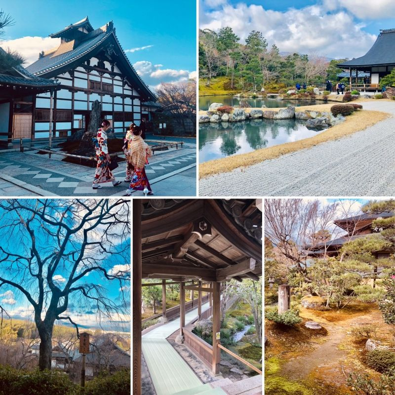 KYOTO is the former capital of Japan for over 1000 years.