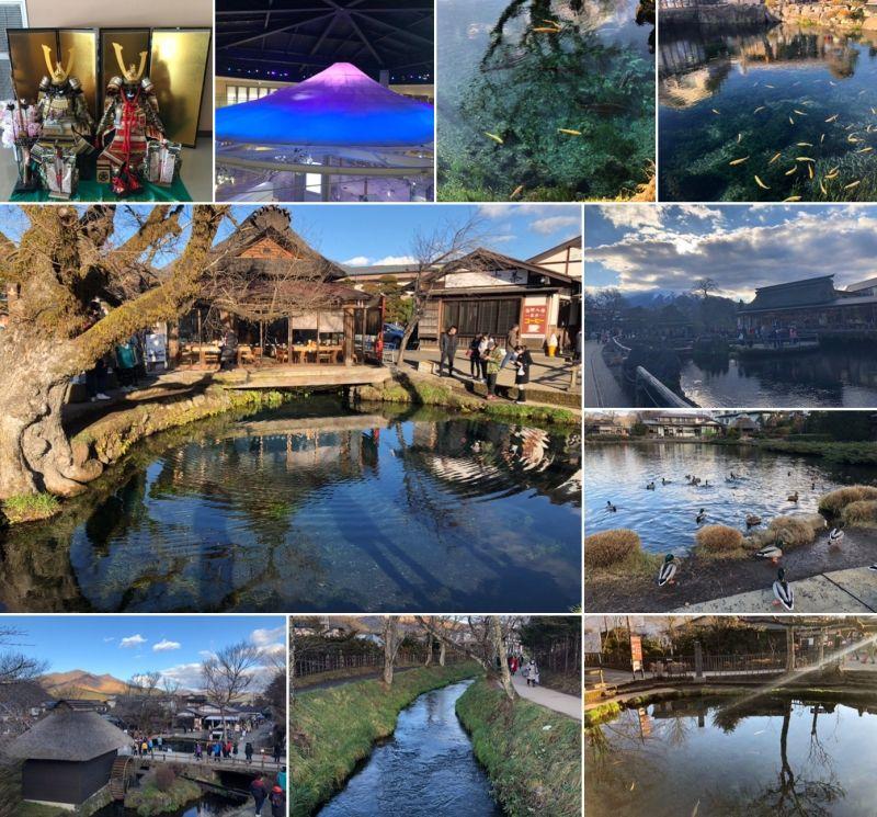 OSHINO HAKKAI area is a beautiful region in Yamanashi Pref.