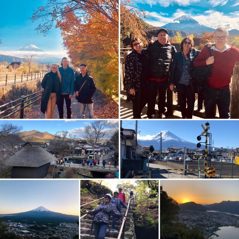 KAWAGUCHI-KO is the most beautiful places to see Mt. Fuji.