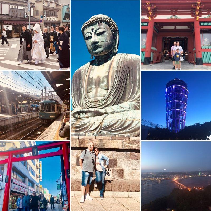 KAMAKURA + (Enoshima or Yokohama) day trip is feasible!!