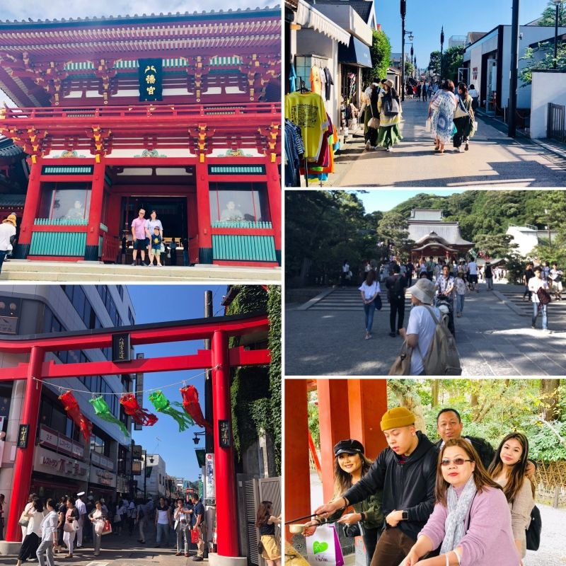 A day trip from Tokyo to the first shogunate capital in Japan, KAMAKURA!