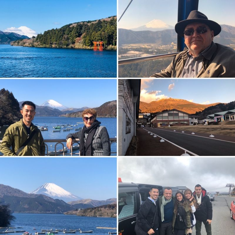 HAKONE (Mt. Fuji vew) is one of the best places for a day trip from Tokyo!!