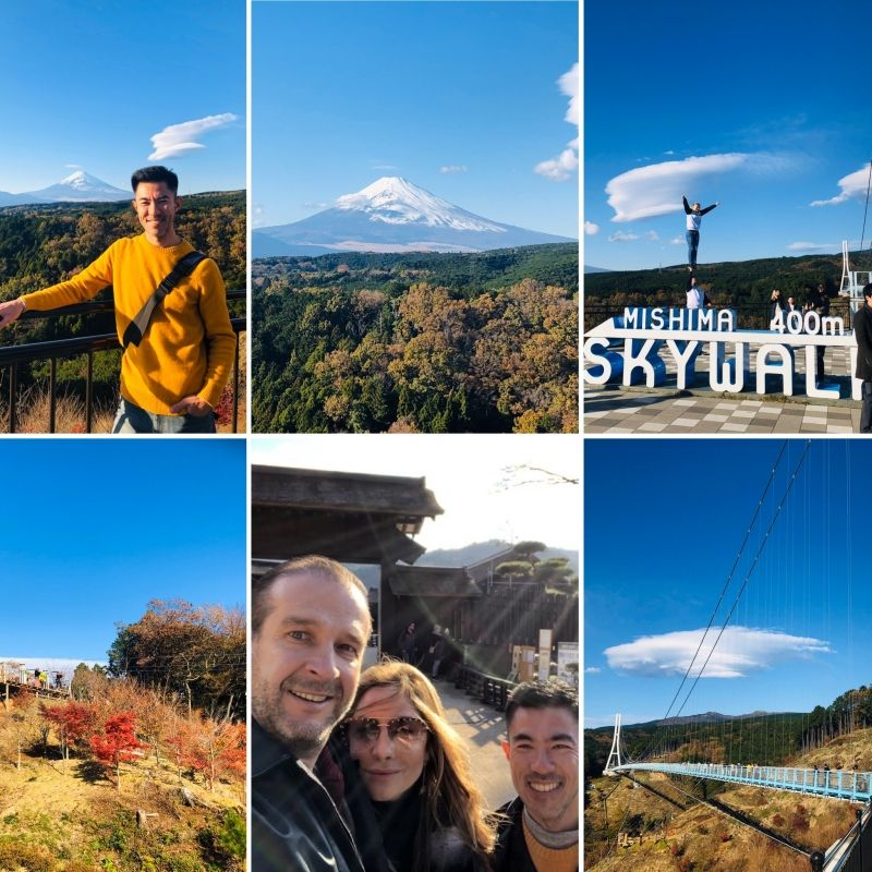 MISHIMA Skywalk can be on the way to HAKONE!!