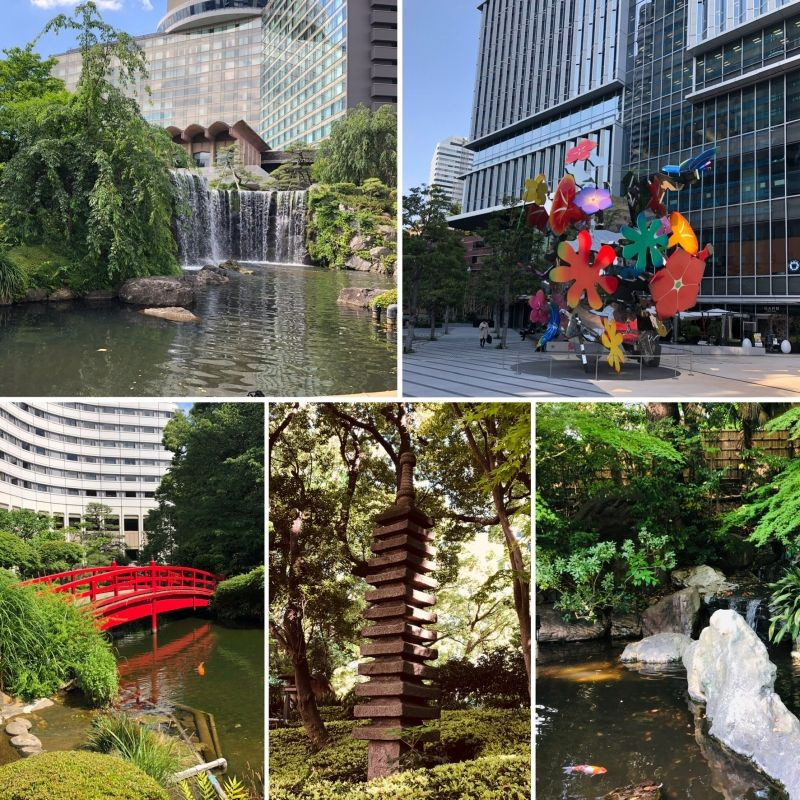 Different hotels in TOKYO emphasize different aspects of the Japanese culture!