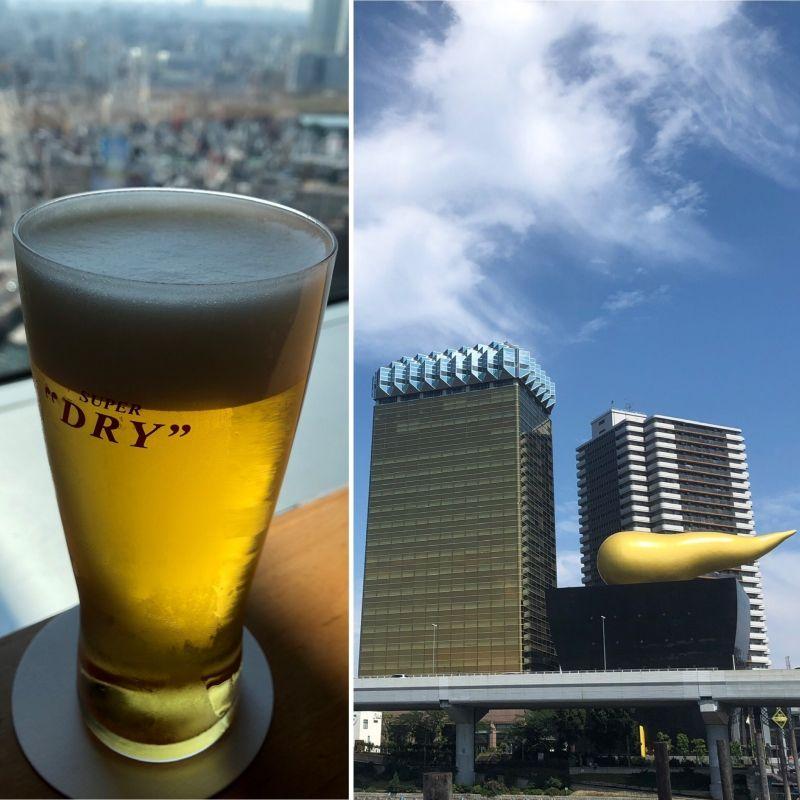 This summer is asking a cool beloved Japanese beer.. cheers, kanpai!!