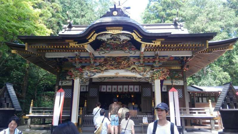 Wonderful and austere shinto shrines