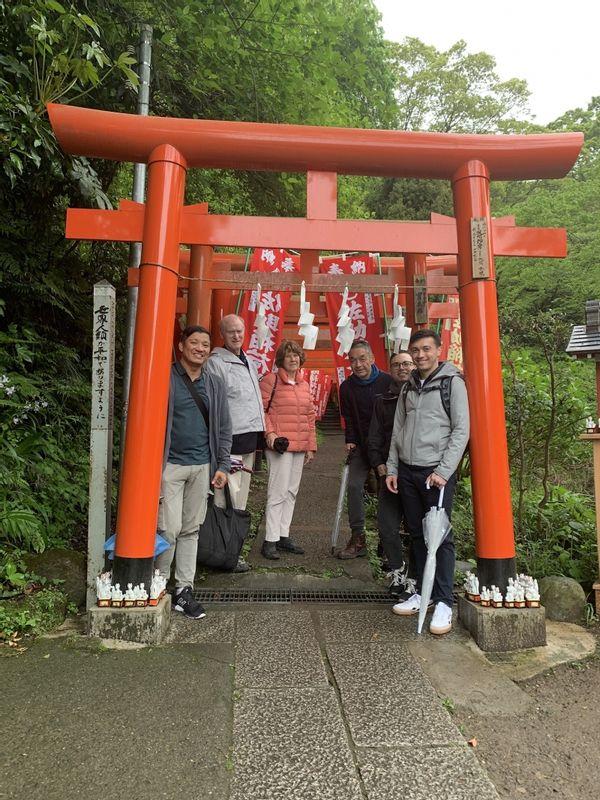 Sasuke Inari Shrine at Kamakura