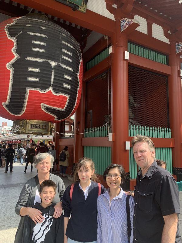Kaminarimon Gate at Asakusa Sensoji