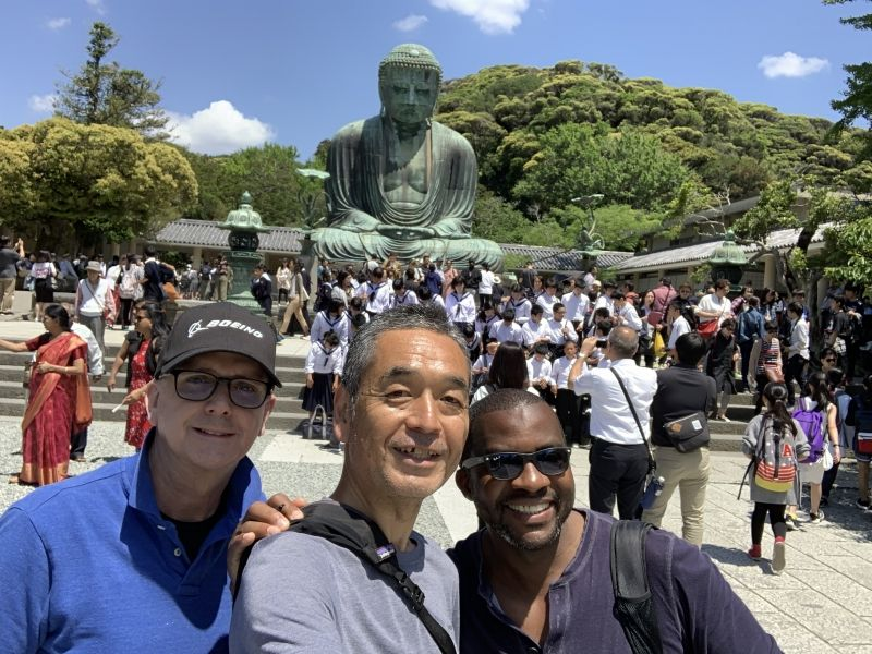 Great Buddha in Kamakura