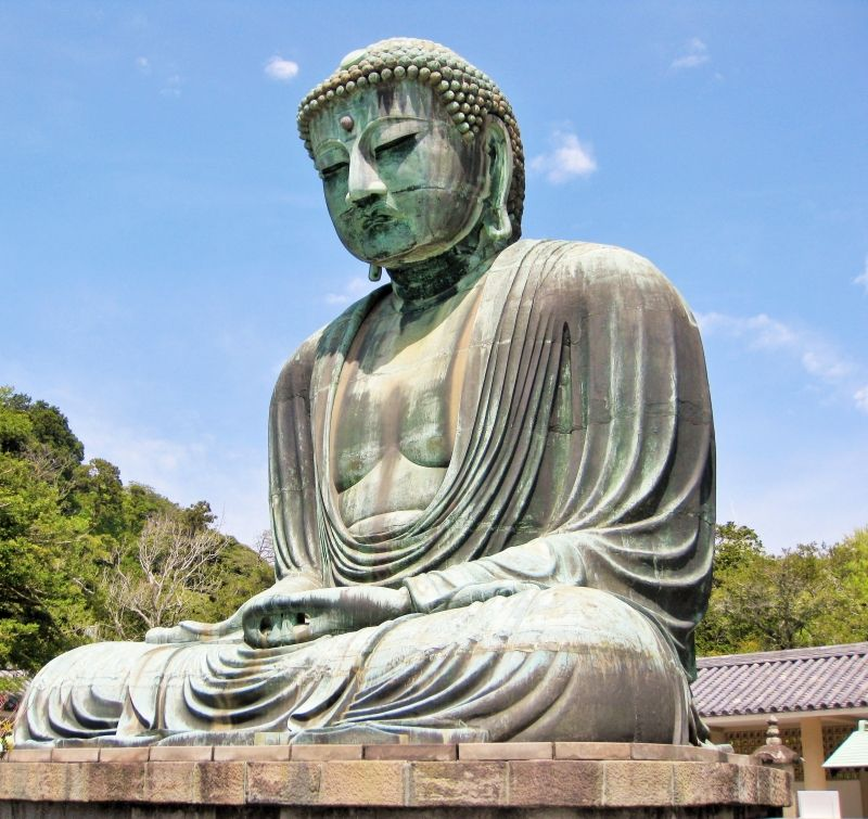 Kamakura: Great Buddha statue in Kotokuin Temple