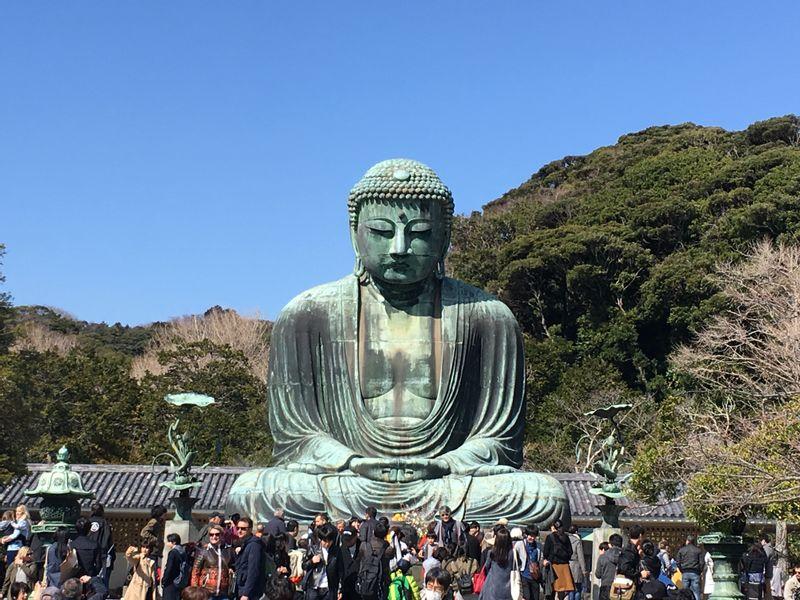 Great Buddha of Kotokuin temple in Kamakura.
