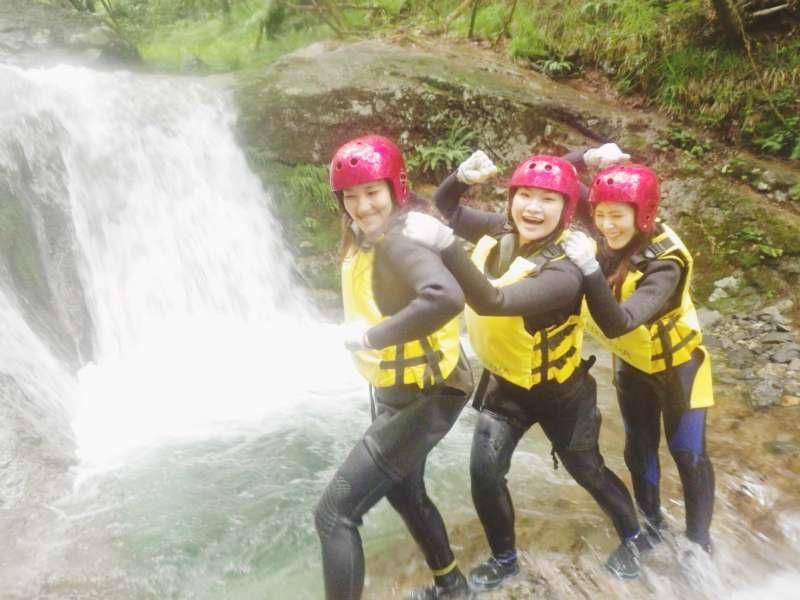 we had enjoying with canyoning!