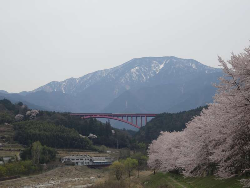 An original Japanese landscape in the northern part of Gifu prefecture.