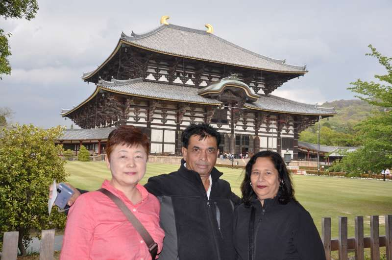 At Heijo Palace Site (平城京跡)In Nara.