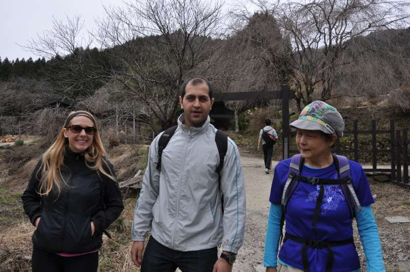 Walking alomg an old Kiso road in the southern part of Nagano.
