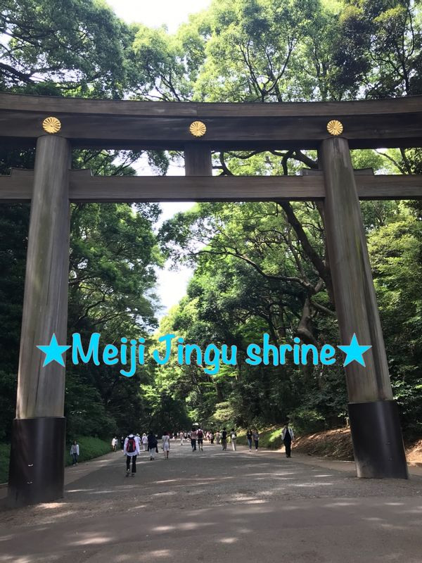 Most important shrine in Tokyo, named after emperor and situated in 170 acres of forest.