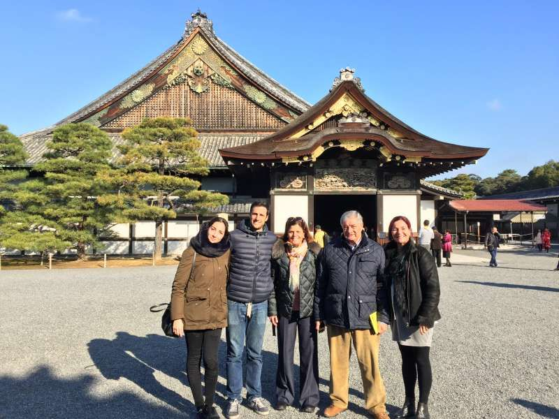 Nijyo-jyo, Castillo de nijyo, en el que se sabe la historia y la cultura de la Era de Edo.