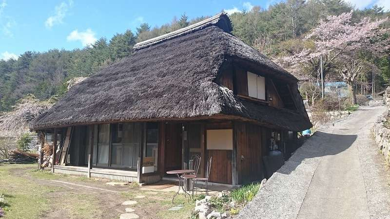 Japanese old folk house in Ashikawa village