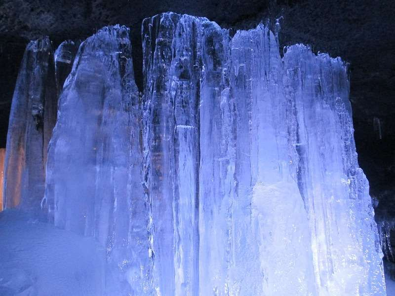 Ice Pillar in Fugaku Wind Cave