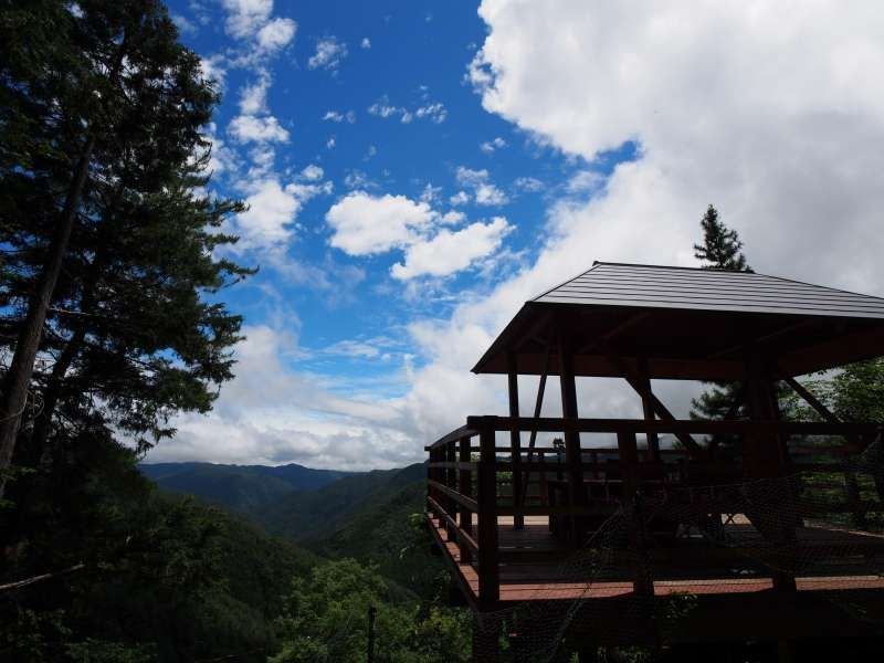 Ancient pilgrimage trails and lunch with mountain panorama view