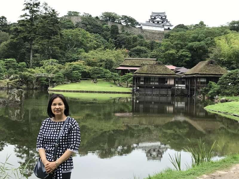 Hikone Castle in Shiga pref.
