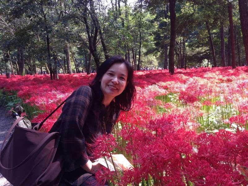 Equinox flower in Saitama pref.