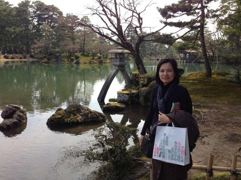 Kenroku Garden in Kanazawa, Ishikawa pref.