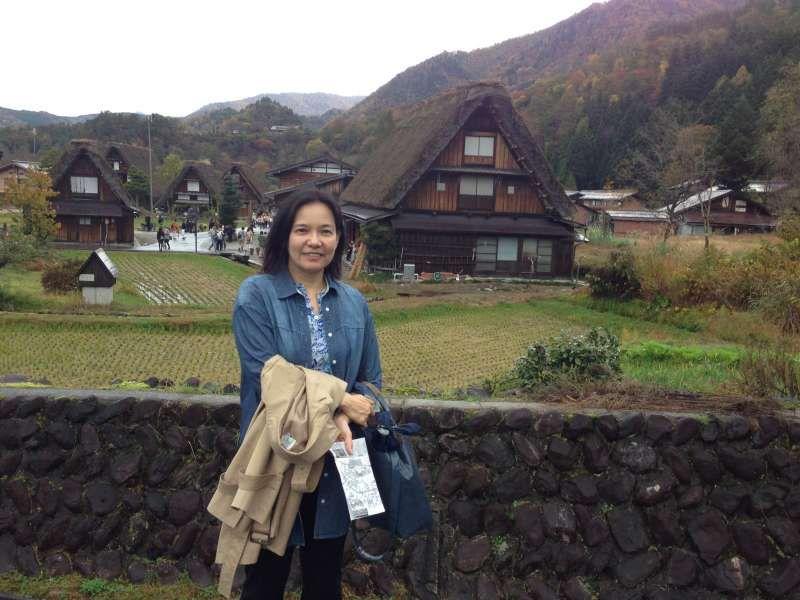 Shirakawa villege in Gifu pref.