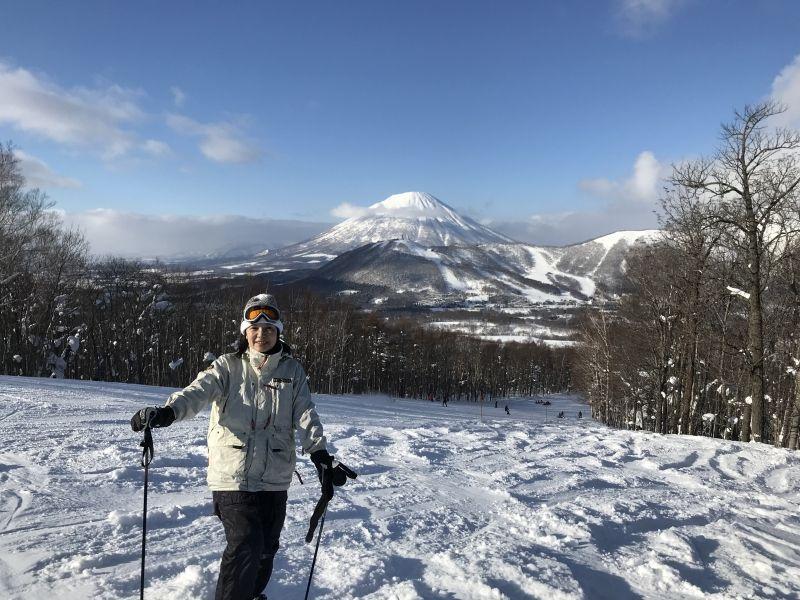Rusutsu ski resort in Hokkaido