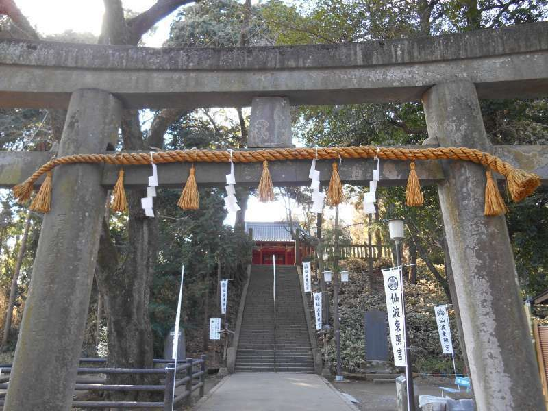 Semba Tosho-Gu shrine in Kawagoe, where the funeral of Ieyasu Tokugawa was held in 1616.