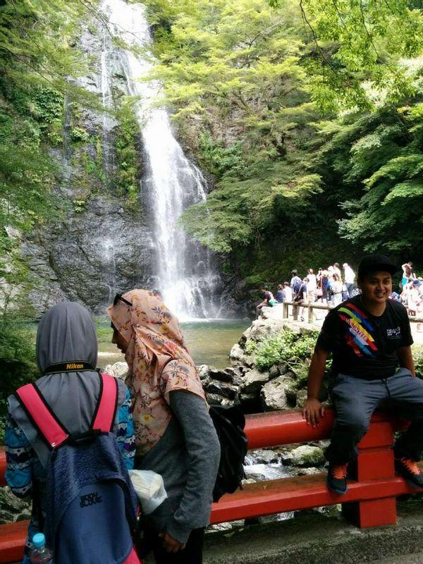 Mino Water Fall(Osaka)