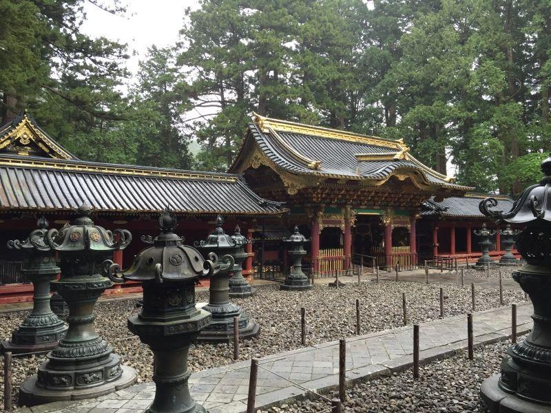 Yashamon Gate in Taiyuin Temple