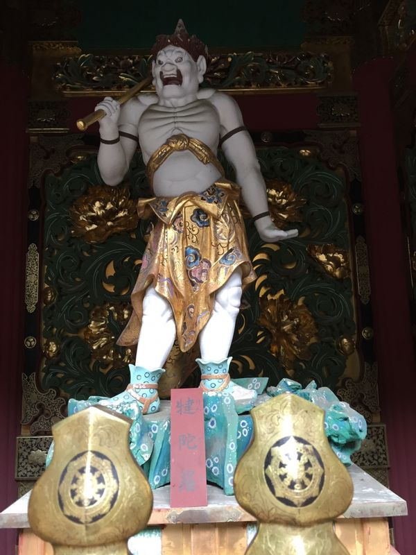 One of the Four Devs in Taiyuin Temple