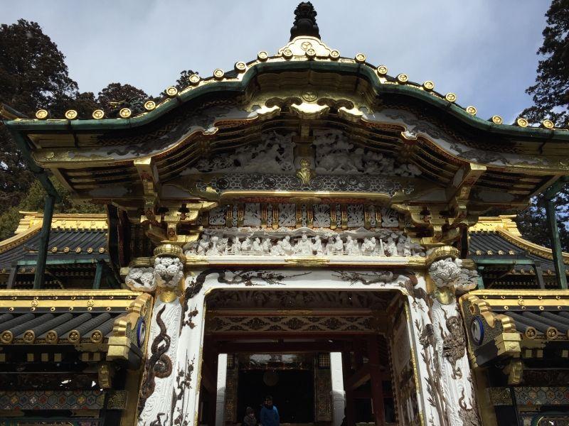 Karamon gate at Toshogu Shrine