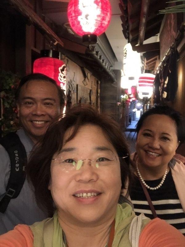 small alley  near Hozenji
