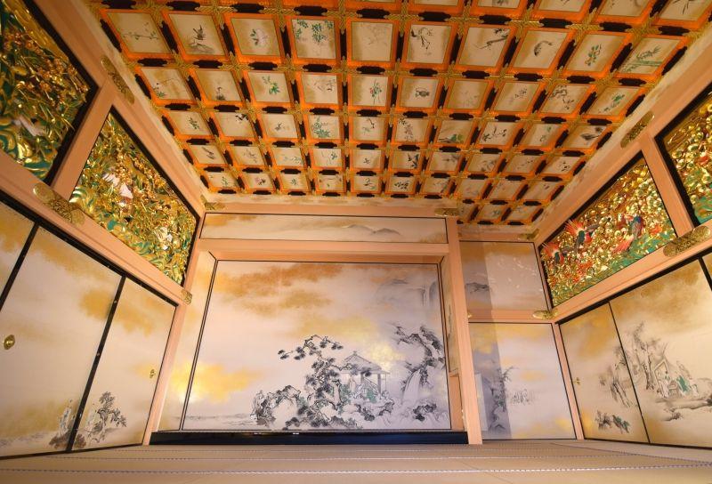 Inside of Nagoya Castle Hommaru Palace samurai residence --- Feel like back to 400years ago!