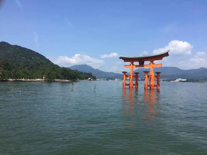 Great Torii Gate on Miyajima island