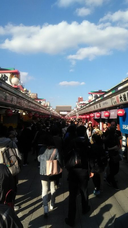 Vibrant city, Asakusa. I was born in this city and I had lived there for 24 years.