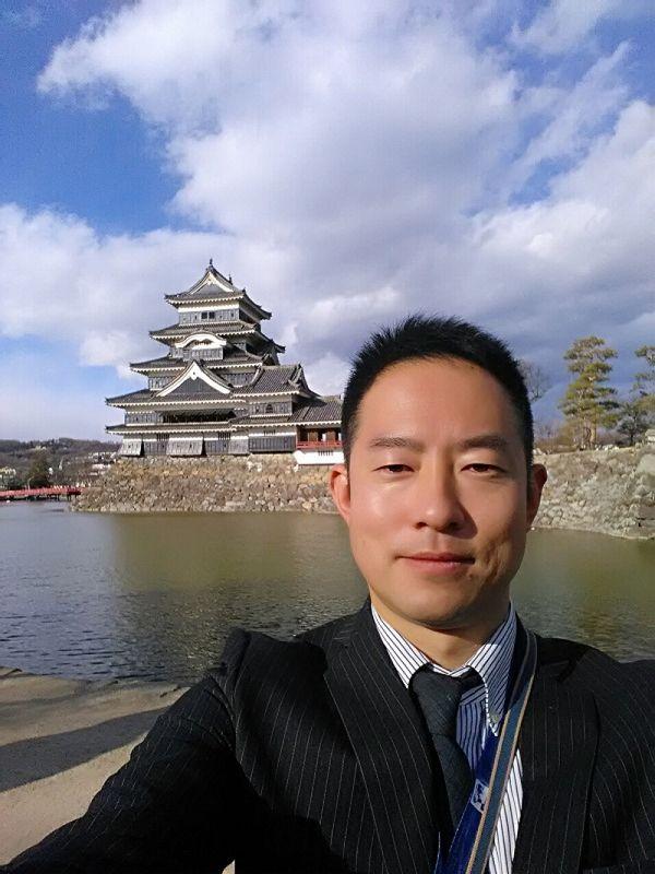 Matsumoto castle taken during my job as a tour-conductor.