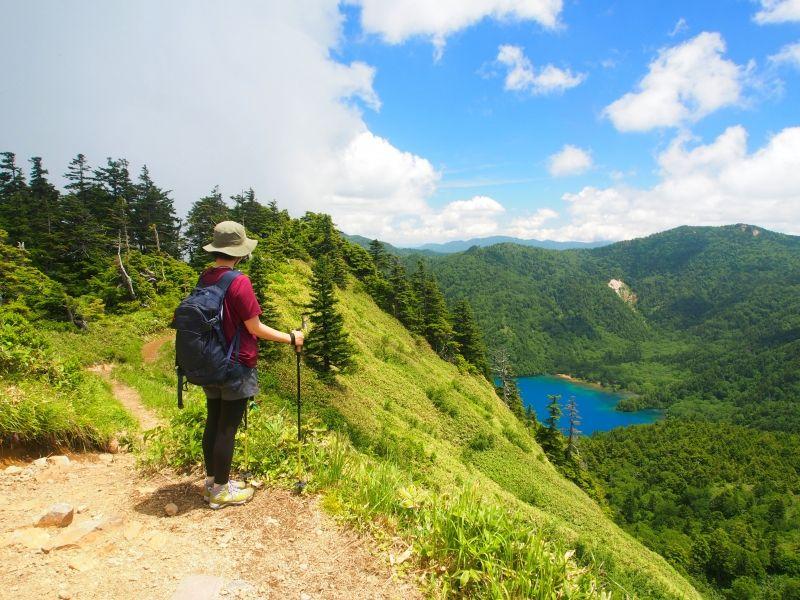 One day Hiking to Oonuma ike pond.