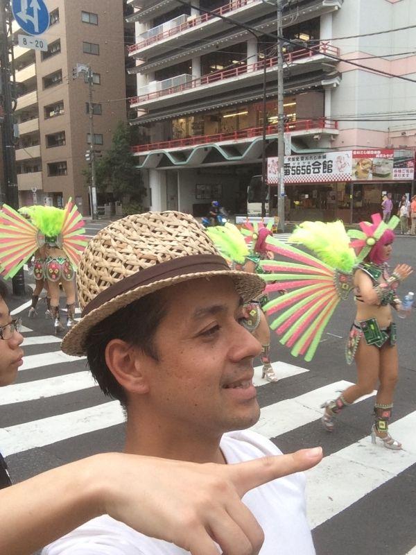 Asakusa Samba Carnival in Summer