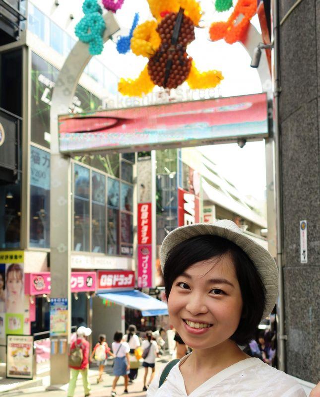 Harajuku Takeshita street :)