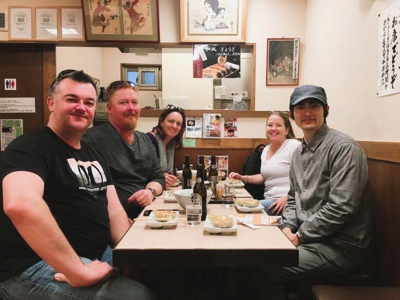 At a Ramen Restaurant in Asakusa, Tokyo