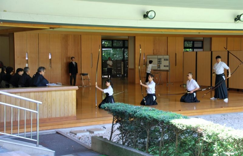 Japanese Archery in Meiji Jingu Shrine