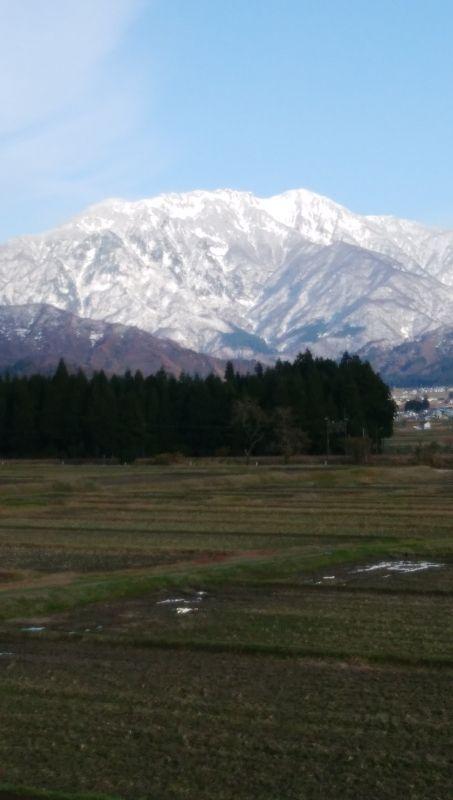 Mt. Hakkai from Muikamachi