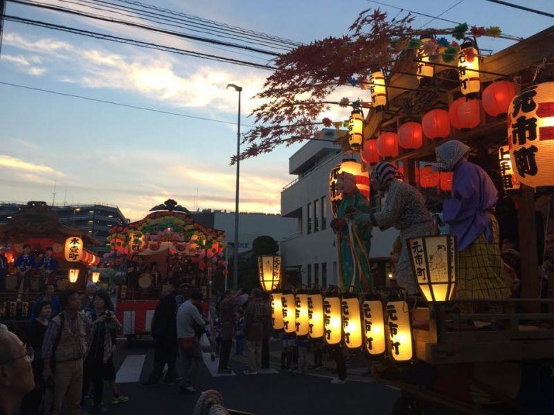 Summer festival, Saitama