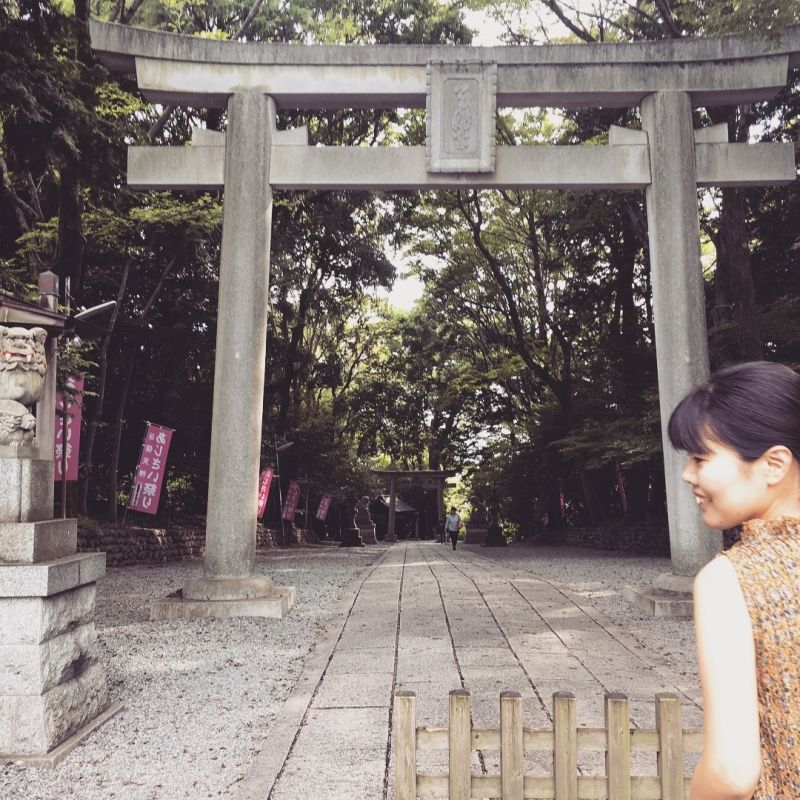 A tensin shrine since 10th century which helps prayers pass exams in the west Tokyo.